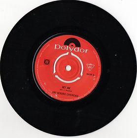 hendrix rotily patrick vinyl collector /hey joe