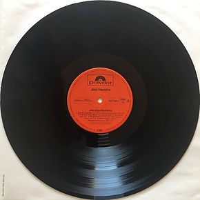 jimi hendrix vinyls collector/ jimi plays monterey   / side 2 : germany