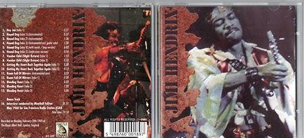 jimi hendrix bootlegs cd/rayal albert hall rehearsals / rattle snake