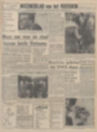 jimi hendrix newspapers 1967 / nieuwsblad van het noorden sept. 8, 1967