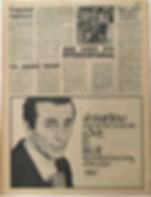 jimi hendrix newspaper/go 26/1/68 (cops seize hendrix' passport)