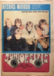 jimi hendrix newspaper 1968/ record mirror november 2 1968