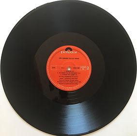 jim hendrix album vinyl lps/isle of wight side 2/ 1971 india