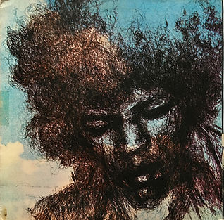 jimi hendrix vinyls lps albums / cry of love and poster promo canada 1971