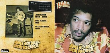 jimi hendrix bootlegs cd/titan top show