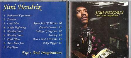 jimi hendrix bootlegs cd / eye's and imagination