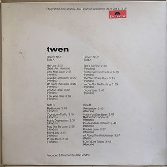 jimi hendrix collector vinyls/ starportrait  1971 italy