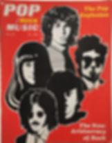 jimi hendrix newspaper 1968/ pop rock music