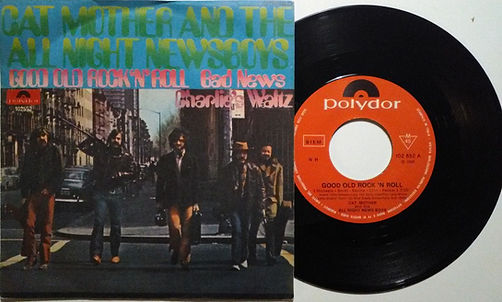 jimi hendrix vinyls 1970 /  cat mother : good old rock'n roll