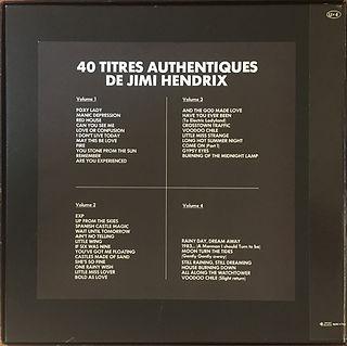 jimi hendrix box collector vinyls  / jimi hendrix france