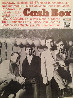 jimi hendrix magazine/cash box 24/6/67