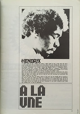 jimi hendrix magazines 1970 / best : article /