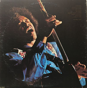 jimi hendrix vinyl album lps1972/in the west fan-club usa