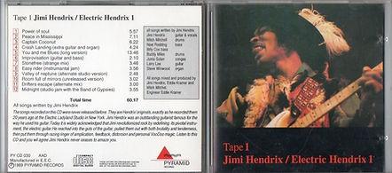 jimi hendrix cd bootlegs 1969/tape 1 electric hendrix 1