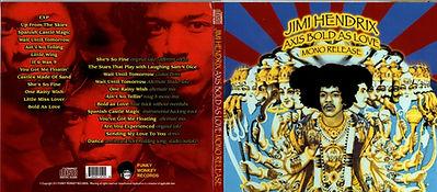 jimi hendrix collector bootlegs cd/axis bold as love/ mono release 2013
