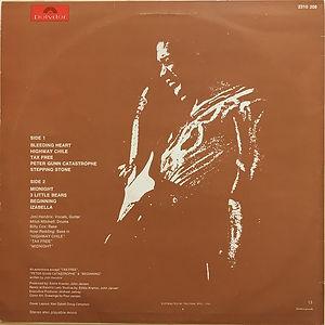 jimi hendrix vinyls/ war heroes 1972