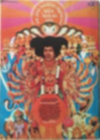 jimi hendrix magazines/billdoard february 3 1968/ AD. axis bold as love