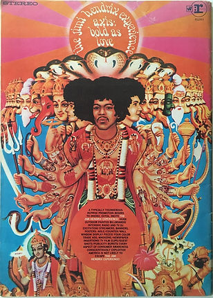 jimi hendrix magazines/billdoard february 3 1968/ AD. axis bold as love