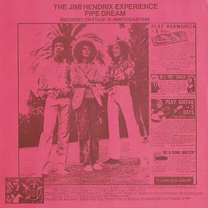 jimi hendrix vinyls lp bootlegs/pipe dream 2011