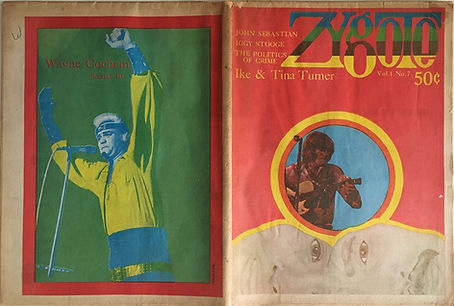jimi hendrix newspapers 1970 / zygote  october 30,  1970