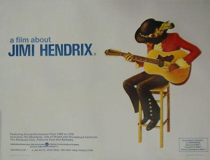 jimi hendrix memorabilia/a film about jimi hendrix