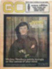 jimi hendrix newspaper /go 27/9/68 usa