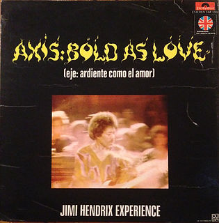 JIMI hendrix collector vinys / promotion mexico  axis bold as love
