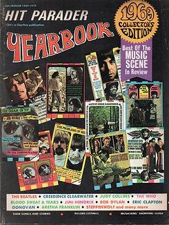 jimi hendrix magazines 1969 / yearbook 1969
