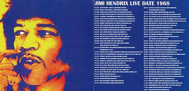 jimi hendrix bootlegs cd/jimi hendrix live date 1968/complete winterland collection