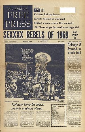 jimi hendrix newspapers1969/los angeles free press october 17, 1969
