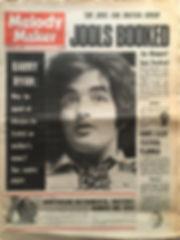 jimi hendrix newspaper 1968/melody maker november 23 1968