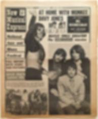 jimi hendrix newspaper/new musical express 17/8/68