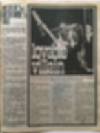 jimi henrix collector newspaper/fabulous 208/lovable villain jimi hendrix 14/10/1967