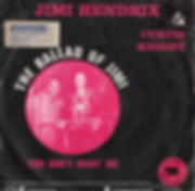 jimi hendrix vinyls singles/the ballad of jimi