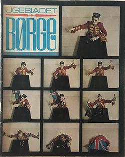 jimi hendrix magazine collector/ugebladet borge dec. 1967