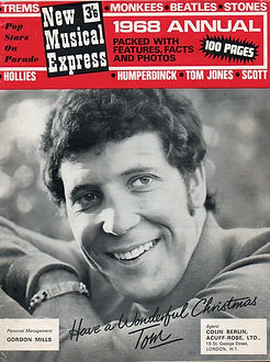 jimi hendrix/1968 annual new musical express
