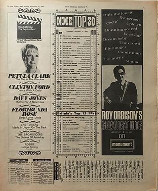 jimi hendrix collector newspapers/new musical express top30