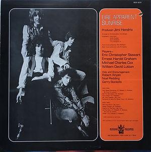 jimi henrix vinyls albums lps/eire apparent : sunrise boudda records