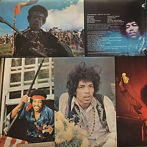 jimi hendri vinyls/the cry of love first edition on polydor 1973 england