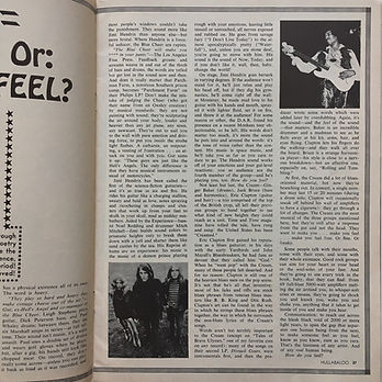 jimi henrix magazine/hullabaloo august 1968