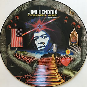 jimi henrix bootlegs lps / picture disc