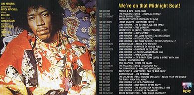 jimi hendrix bootlegs cd album /the woodstock rehearsals 1969