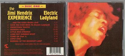 jimi hendrix cd/electric ladyland disc one/1987 usa