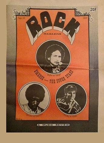 jimi hendrix newspapers 1969/rock newspaper september 29, 1969, hendrix at salvation