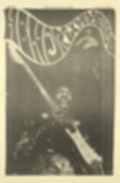 jimi hendrix newspaper/washington free press 27/3/68