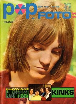 jimi hendrix magazine 1968/popfoto september 1968