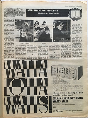 jimi hendrixcollector newspaper/melody maker 10/2/68