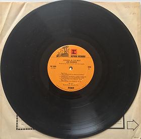 jimi hendrix album vinyls/in the west 1972