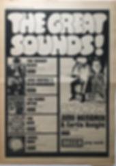 jimi hendrix newspaper 1968 / record mirror november 16 /1968