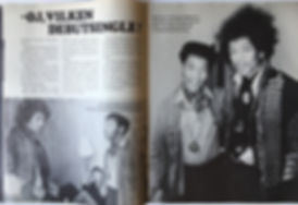 jimi hendrix magazine 1968/ jimi hendrix sweden 968